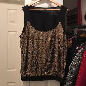 Sparkly Talbots top