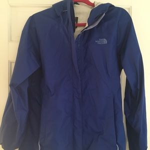 Women's North Face rain jacket.