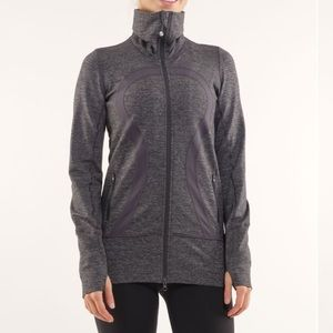Lululemon In Stride Jacket Coal Wee Stripe