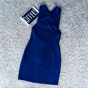 💙 [size: XS] Tobi Cross Back Dress