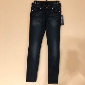 NWT True Religion Jeans Super Skinny Sz 23