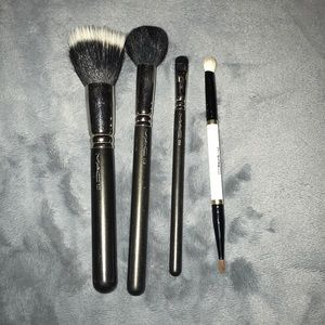 MAC brushes #187,109, 214, and holiday limited