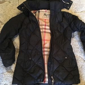 Burberry winter puffer coat