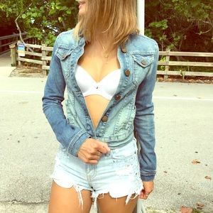 Denim jacket!!!