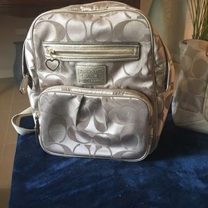 Authentic COACH backpack. Mint condition.