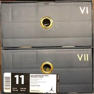 Air Jordan Golden Moments Pack (GMP) VI/VII