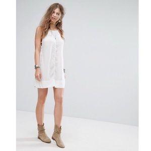 Free People Sheila's Side-by-Side Slip Dress