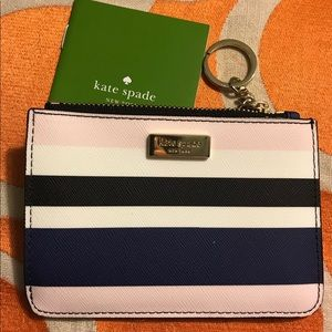 Authentic Kate spade key chain wallet