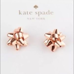 Kate spade bourgeois bow earrings. NWT