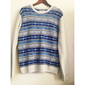 🔸Original Penguin Mens Tribal Sweater