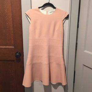 Pink Sandro dress size 3