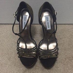 T-strap stilettos