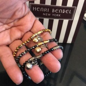 Henri Bendel Trio Strech Bracelets