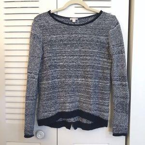 Gap marled wool blend sweater
