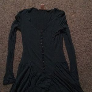 Free people button dress