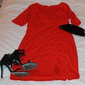 Red hot dress