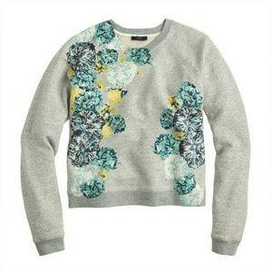 J. Crew print sweatshirt