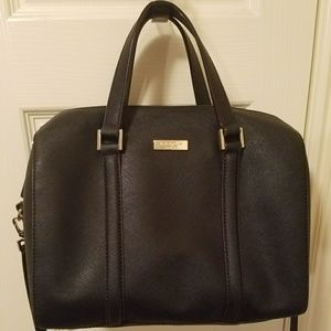 Kate Spade Black Newbury Lane Cassie Satchel