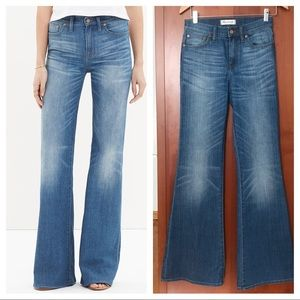Madewell Fleamarket Flare Jeans Sz 25