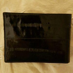 Vintage Eelskin Leather Wallet