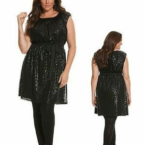 Little Black Seqin Dress