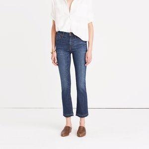 Madewell Cali Demi-Boot Jeans Mitchell Wash 24