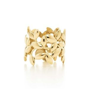 Tiffany & Co. Paloma Picasso Olive Leaf Band Ring