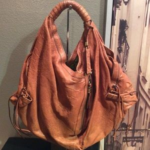Oryany Heather Leather Bag (Ginger)