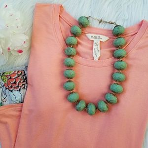 Jewelry - Chunky Beaded Bauble Statement Necklace