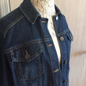 Eddie Bauer Denim Jacket | Size Large