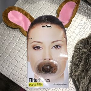 Other - NWT Puppy Filter Ears and Nose