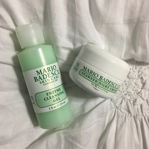 mario badescu night cream and cleansing gel