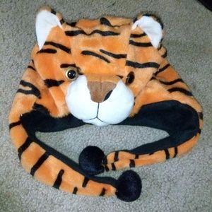 Animal Hat grey tiger