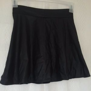 HoT! Charlotte Russe small faux leather black mini