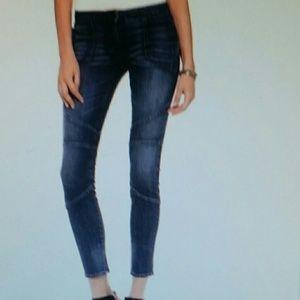 3x1 low rise biker skinny stilou jeans with strech