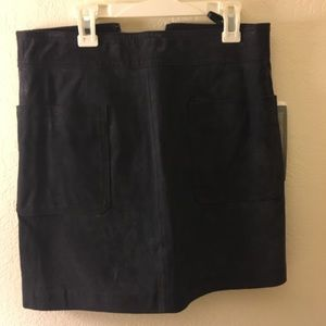 New with tags suede skirt