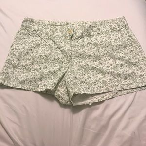 J. Crew printed chino shorts