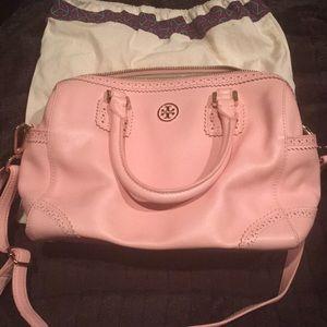 Baby pink Tory Burch bag