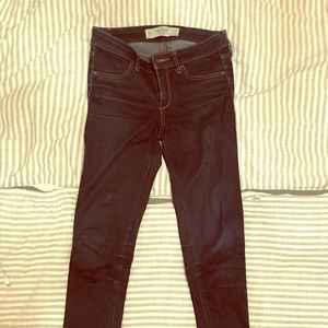 Abercrombie & Fitch low rise super skinny jeans 24