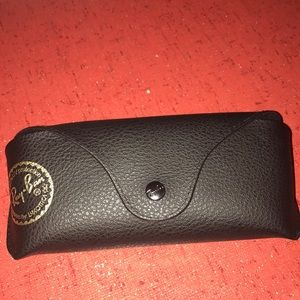 Authentic Ray-Ban black case