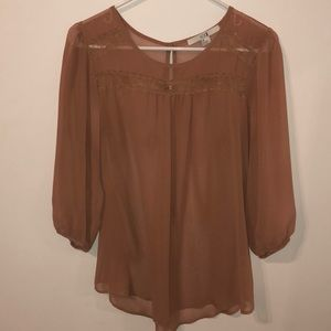 Forever 21 Sheer Blouse