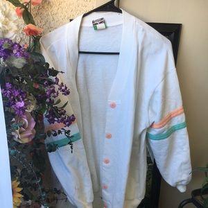 Vintage Kawaii Varsity Jacket