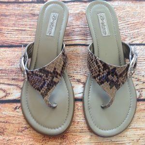 Brighton Lark Sandals Size 9 1/2