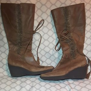 Nomi leather boots size 6.5