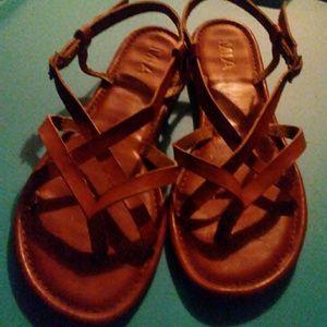 MIA, size 8, gladiator style sandals