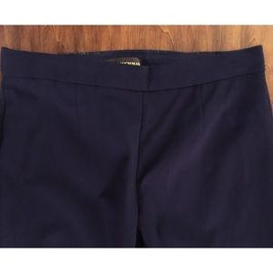 Blue capri dress pants by Dana Buchman.