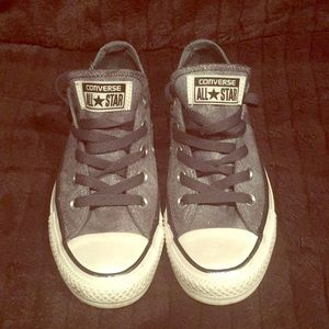 Denim Converse sneakers