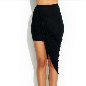 Wrap Around Asymmetric Skirt