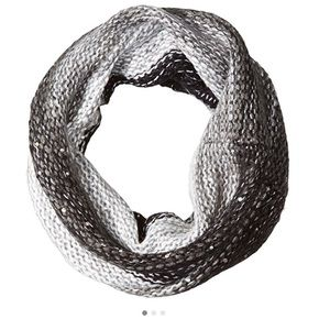 Betsey Johnson Light  Crystal Snood Scarf
