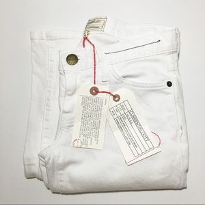 CURRENT/ELLIOT The Low Bell White Jean Women's 24